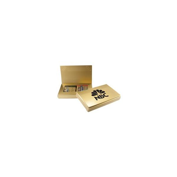 Business Card Holder with Ghiradelli Squares - Business Card Holder with Ghiradelli Squares