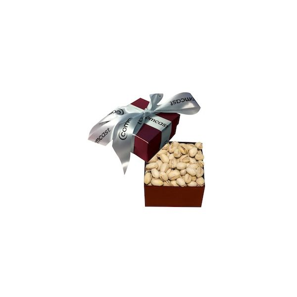 The Classic Pistachio Box - Burgundy - The Classic Pistachio Box - Burgundy