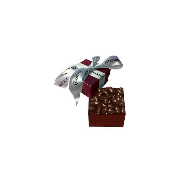 The Classic Chocolate Almond Box - Burgundy - The Classic Chocolate Almond Box - Burgundy