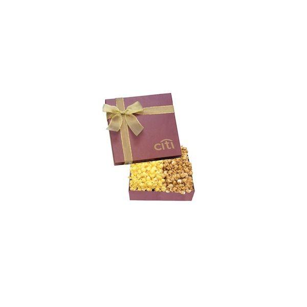 The Chairman Popcorn Box - Burgundy - The Chairman Popcorn Box - Burgundy