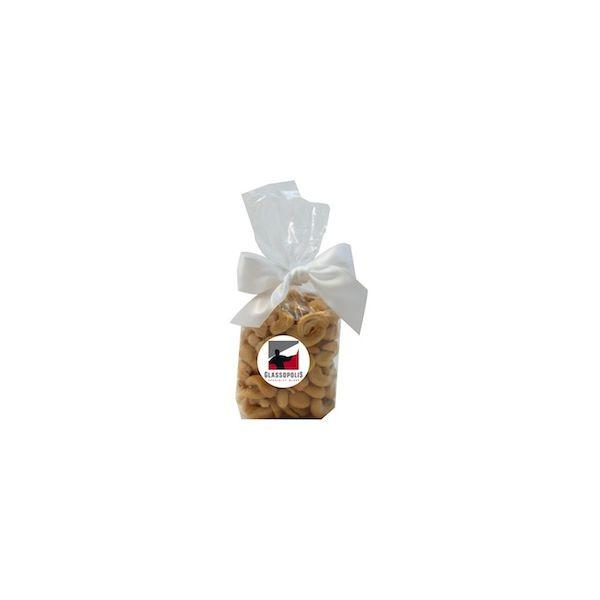 Mug Stuffer Gift Bag with Cashews - Clear - Mug Stuffer Gift Bag with Cashews - Clear