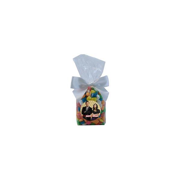 Mug Stuffer Gift Bag with Gum - Clear - Mug Stuffer Gift Bag with Gum - Clear