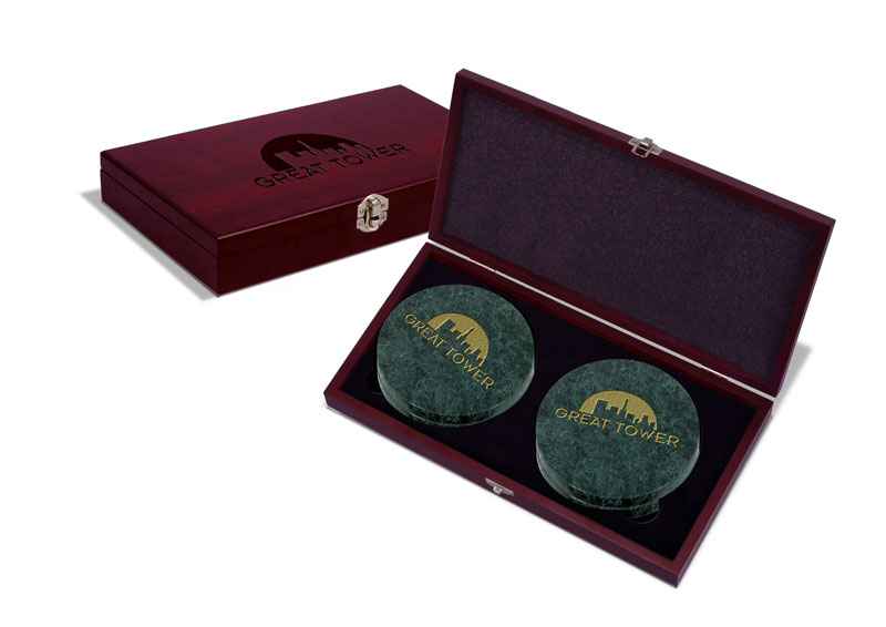 Heritage Coaster Box Set (set of 4 coasters)