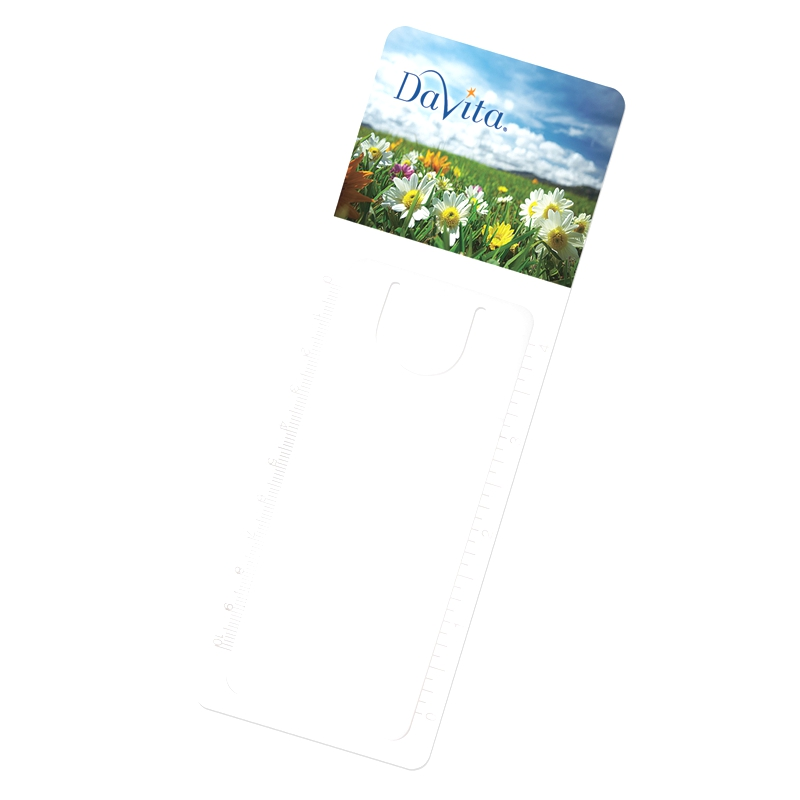 Page Maker Magnifier - Handy die-cut slot for marking pages
