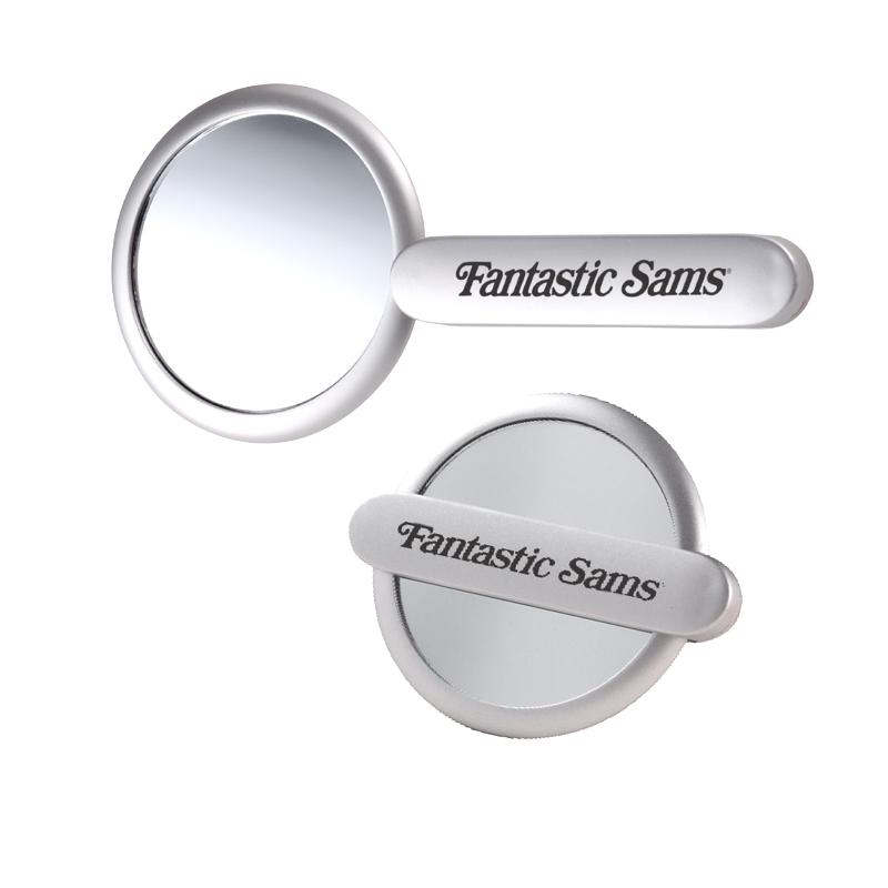 Slide-Handle Mirror - Unique pivoting handle design