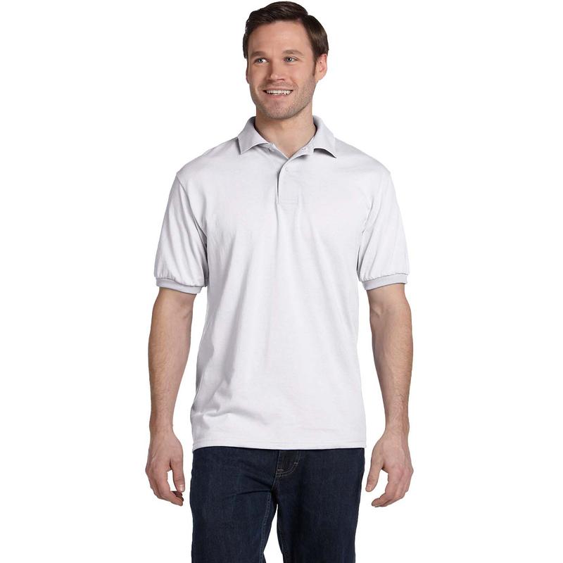5.2 oz., 50/50 ComfortBlend? EcoSmart? Jersey Knit Polo