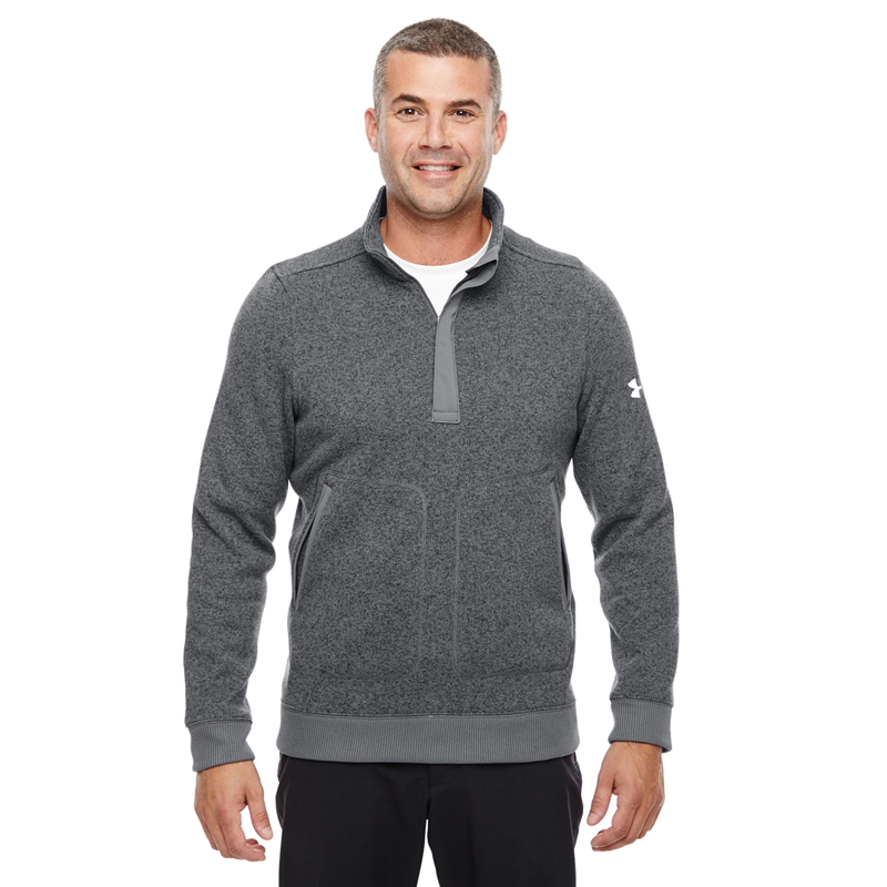 Under Armour Men's Elevate 1/4 Zip Sweater. 1259101.