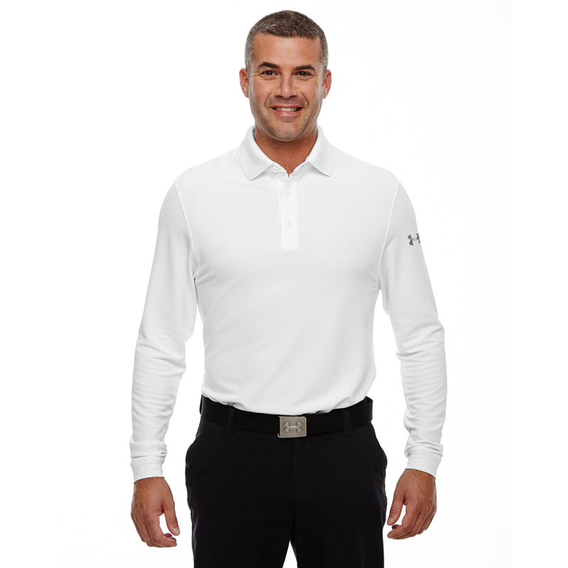 Under Armour Men's Performance Long Sleeve Polo. 1283708.