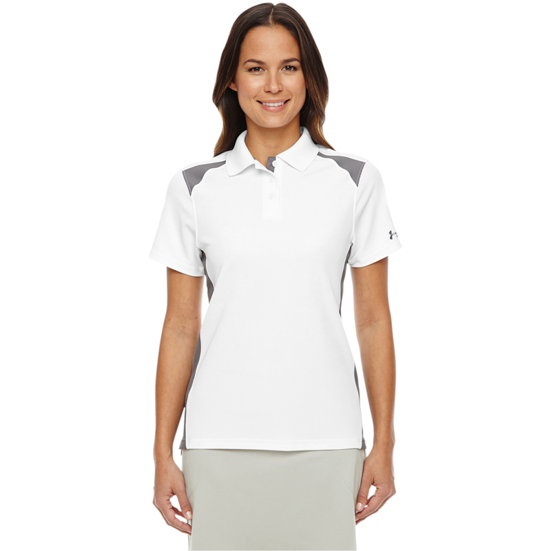 Under Armour Ladies' Team Colorblock Polo. 1283975.