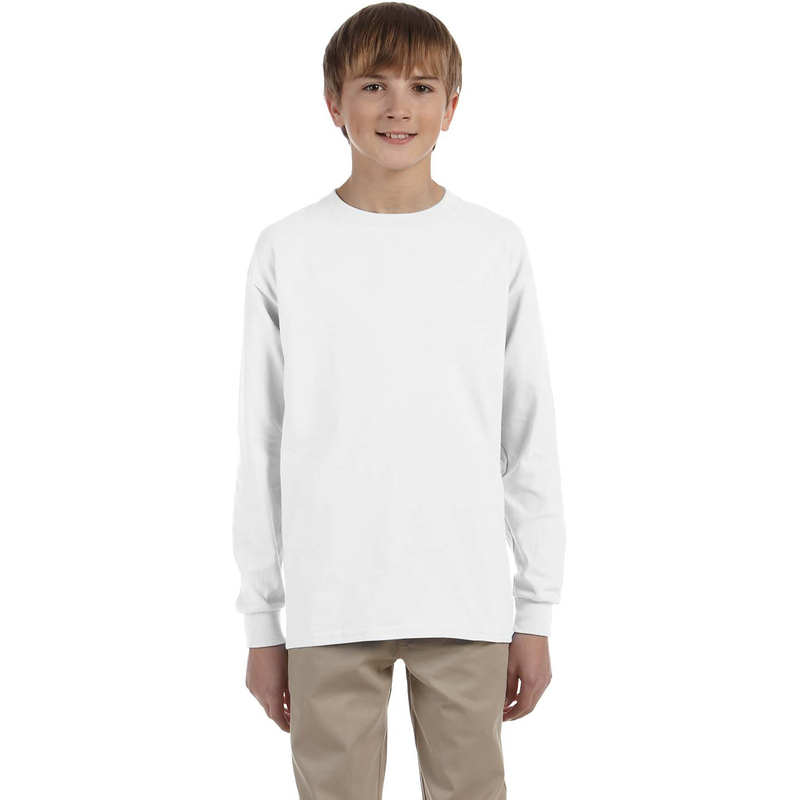 Dri-POWER? ACTIVE Youth 5.6 oz., 50/50 Long-Sleeve T-Shirt