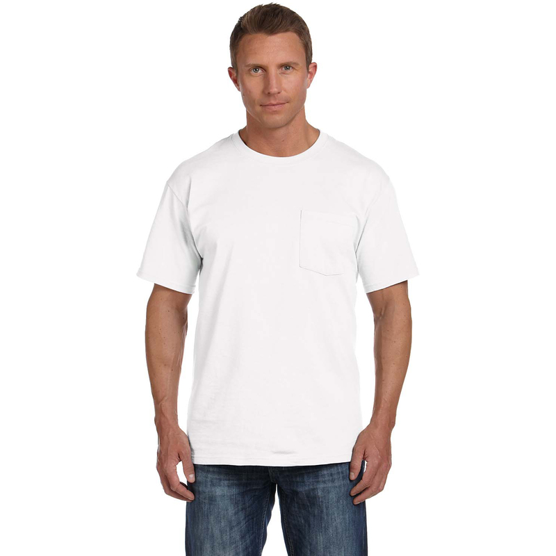 5 oz., 100% Heavy Cotton HD? Pocket T-Shirt