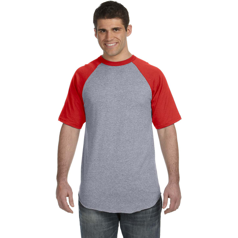 50/50 Short-Sleeve Raglan T-Shirt