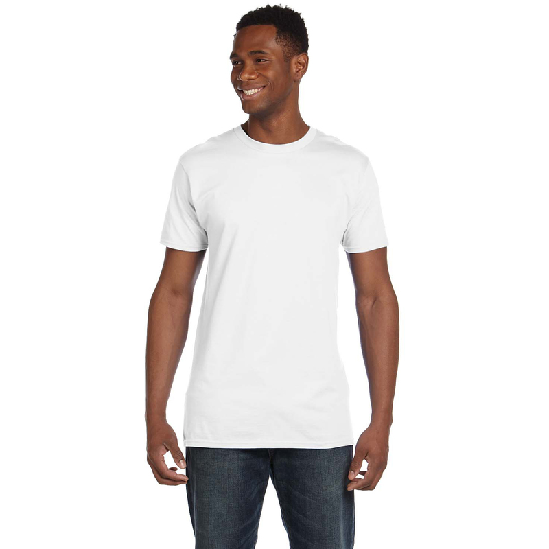4.5 oz., 100% Ringspun Cotton nano-T? T-Shirt