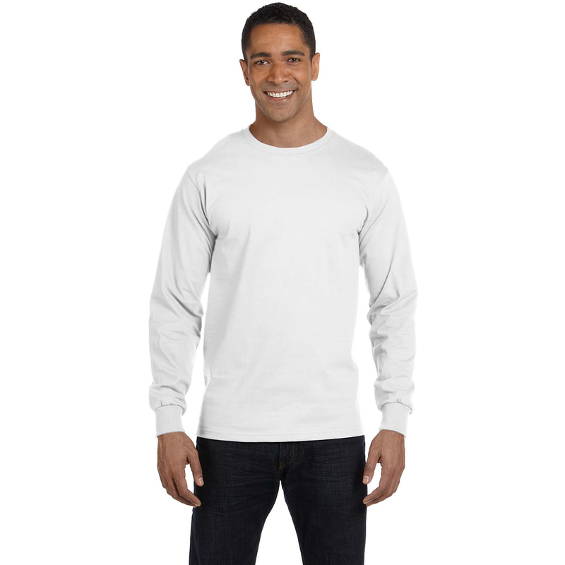 5.2 oz. ComfortSoft? Cotton Long-Sleeve T-Shirt
