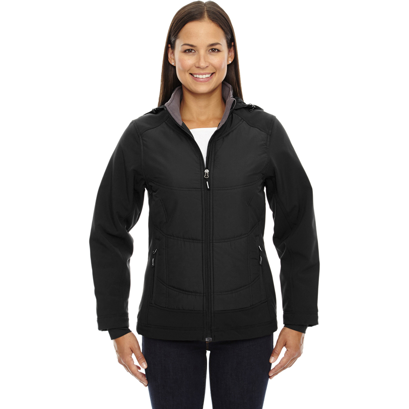 Ladies' Neo Insulated Hybrid Soft Shell Jacket