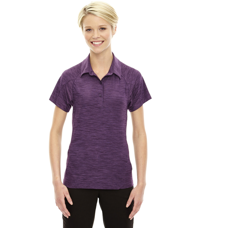 Ladies' Barcode Performance Stretch Polo