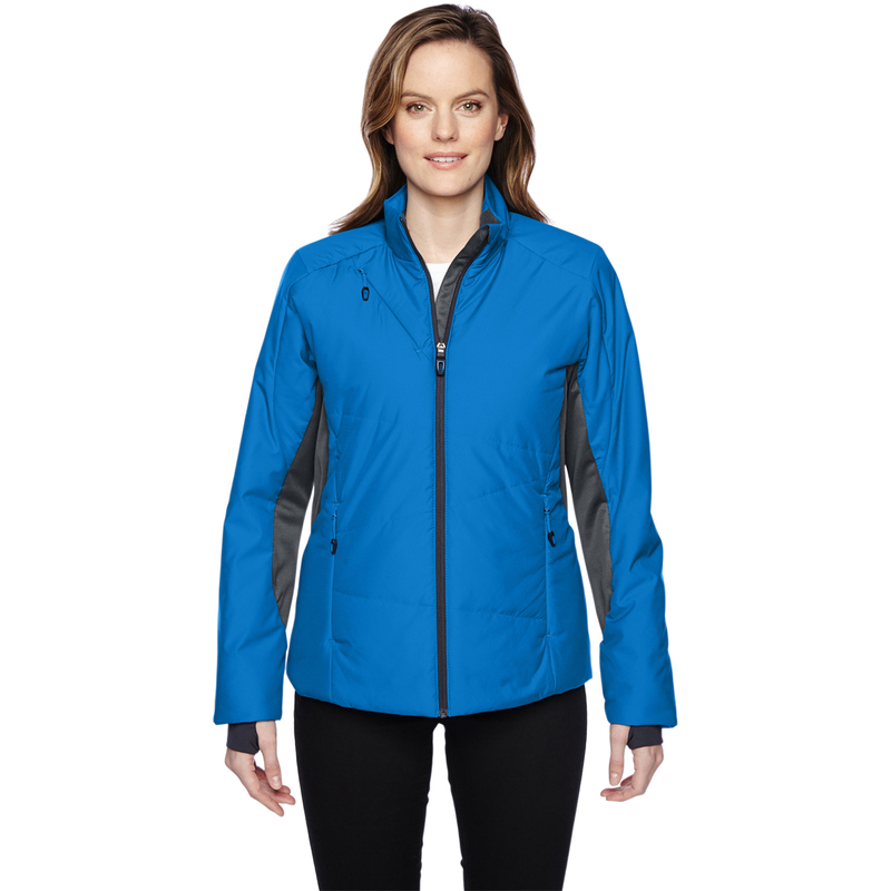 Ash City - North End Sport Red Ladies' Immerge Insulated Hybrid Jacket with Heat Reflect Technology - 78696