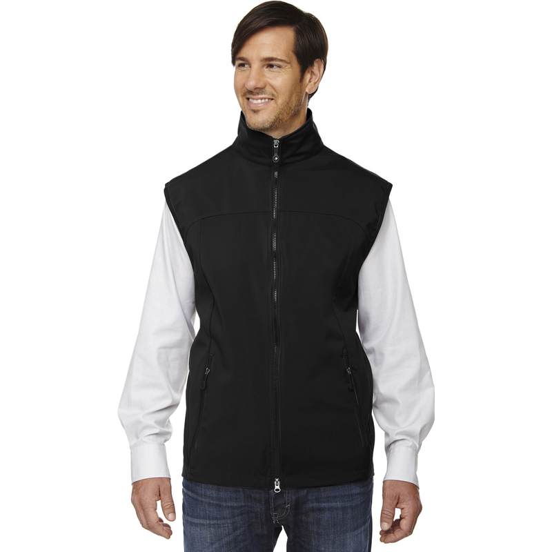 Men's Three-Layer Light Bonded Performance Soft Shell Vest