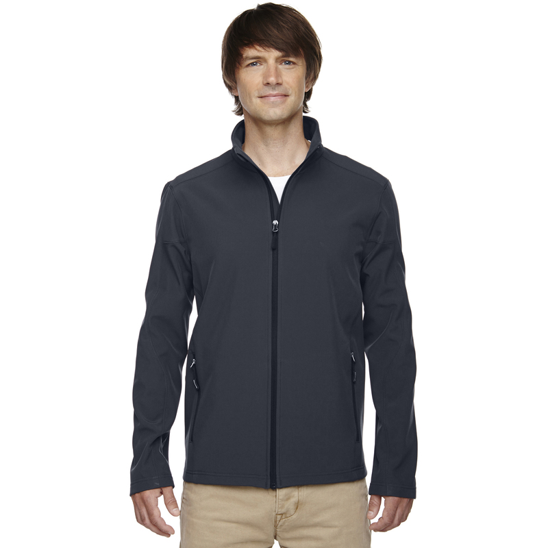Bumper to Bumper - Men's Tall Cruise Two-Layer FleeceBonded Soft Shell Jacket