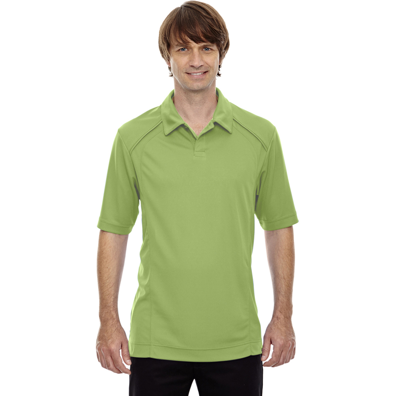 Men's Recycled Polyester Performance Piqu Polo