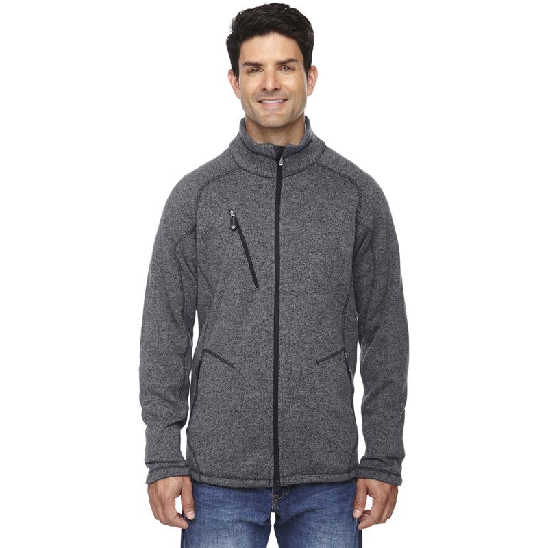 Ash City - North End Sport Men's Peak Sweater Fleece Jacket - 88669