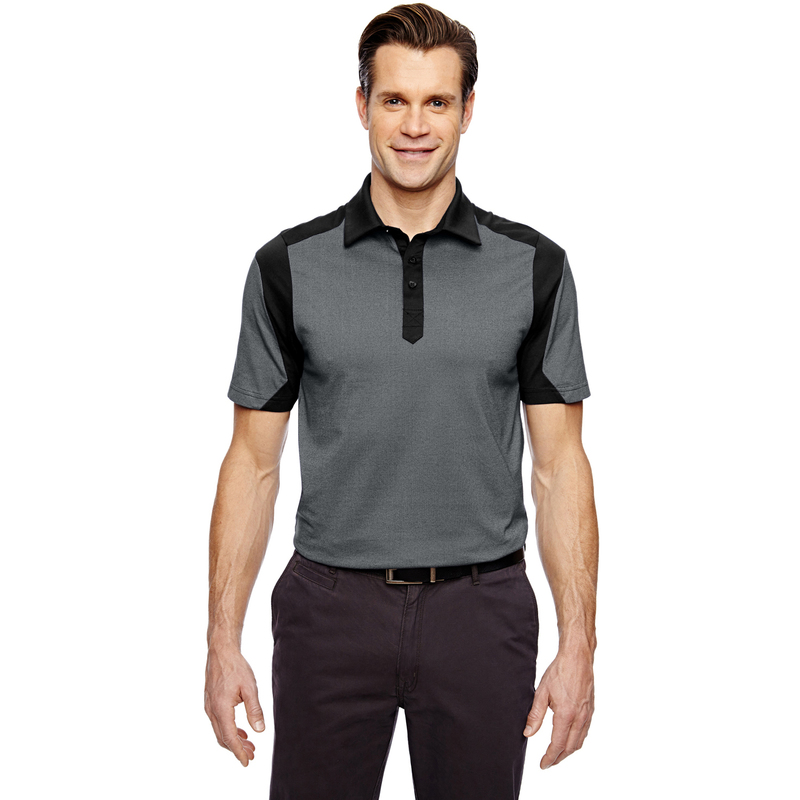 Men's Merge Cotton Blend Mlange Polo
