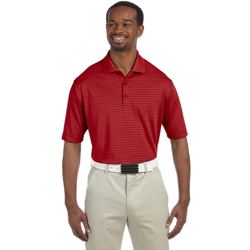 Men's climalite Pencil Stripe Polo