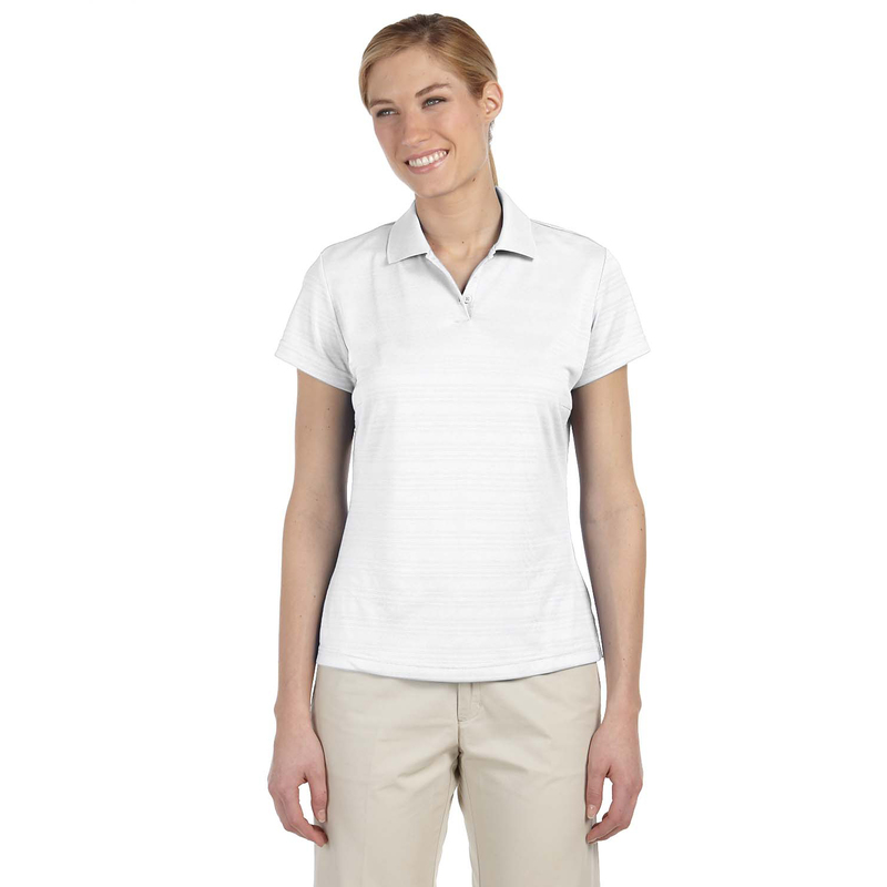 Ladies' climalite? Textured Short-Sleeve Polo
