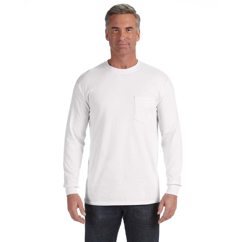 6.1 oz. Long-Sleeve Pocket T-Shirt