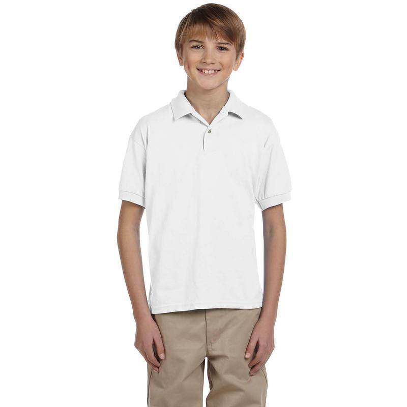 DryBlend? Youth 5.6 oz., 50/50 Jersey Polo
