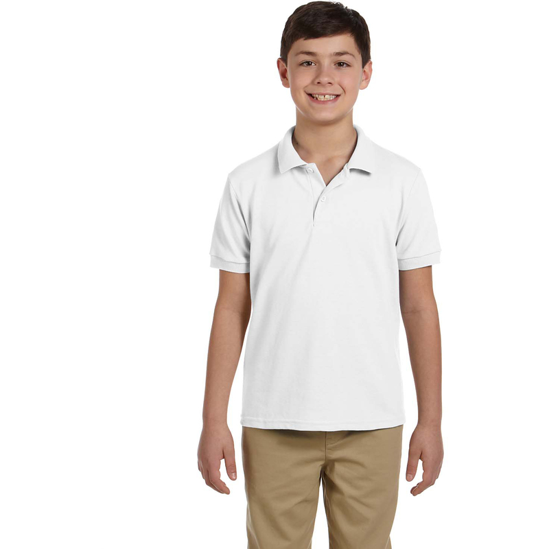 DryBlend? Youth 6.5 oz. Piqu? Sport Shirt