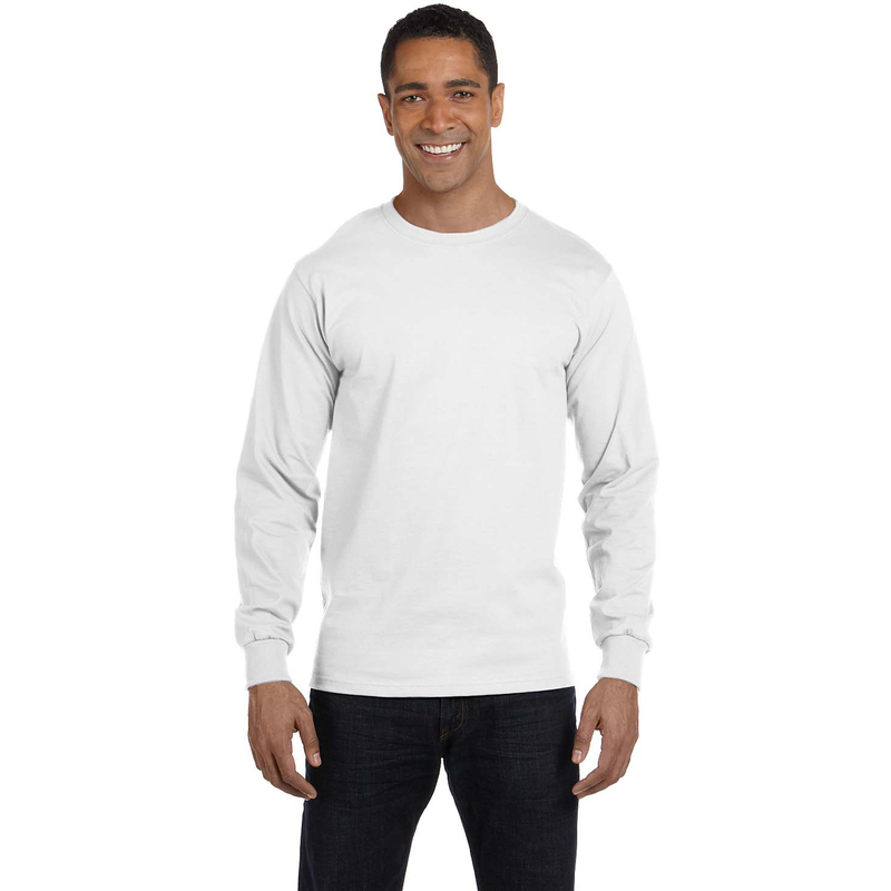 6 oz., 100% Cotton Lofteez HD? Long-Sleeve T-Shirt
