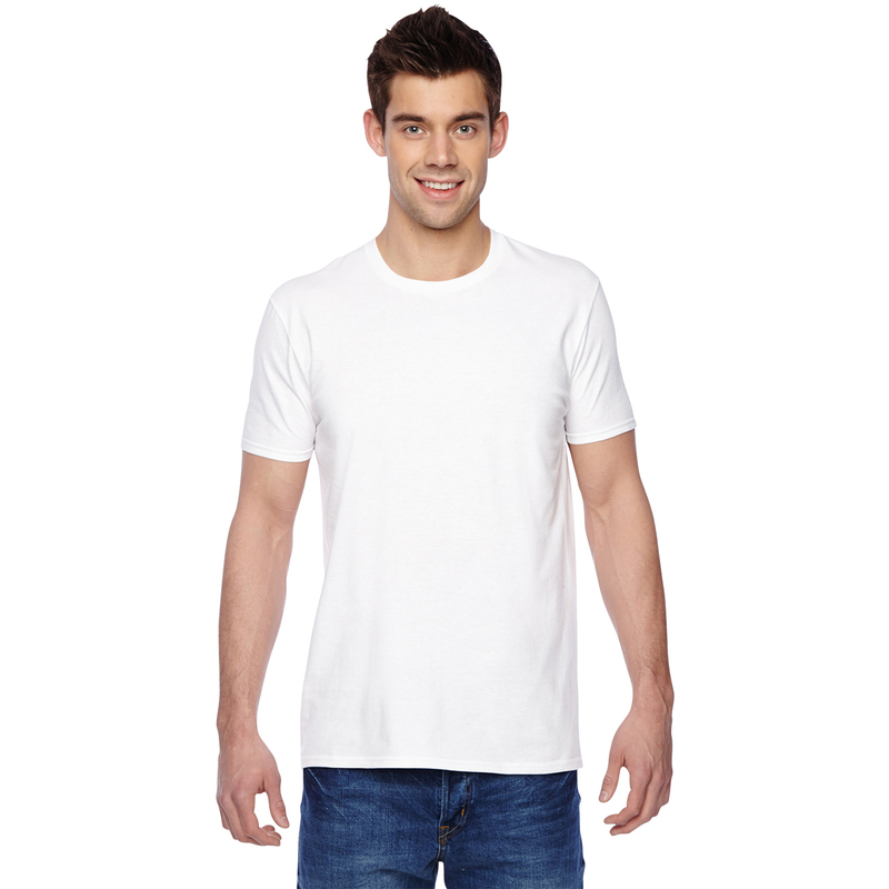 4.7 oz., 100% Sofspun? Cotton Jersey Crew T-Shirt