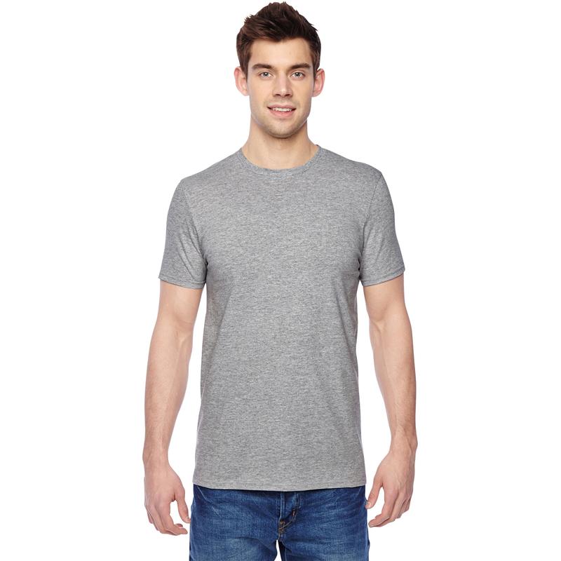 4.7 oz., 100% Sofspun? Cotton Jersey Crew T-Shirt