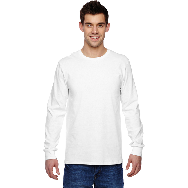 4.7 oz., 100% Sofspun? Cotton Jersey Long-Sleeve T-Shirt