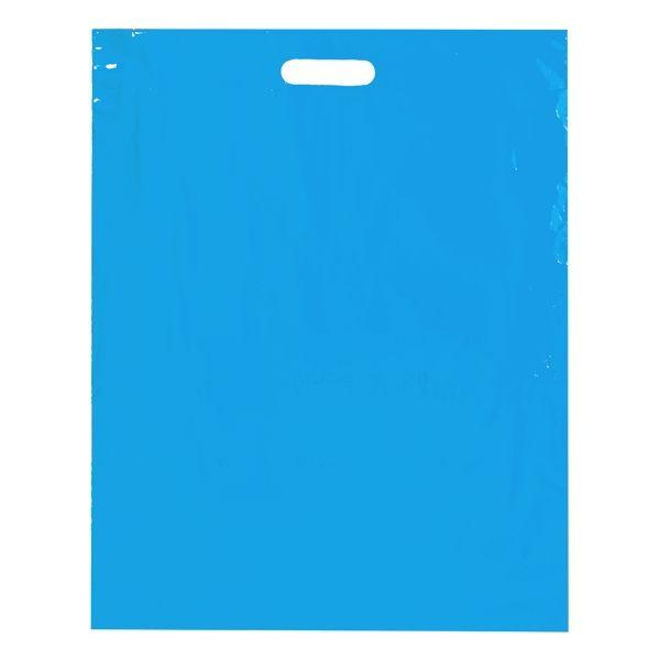 Die Cut - 2.5 MIL BLUE FOLD OVER DIE CUT