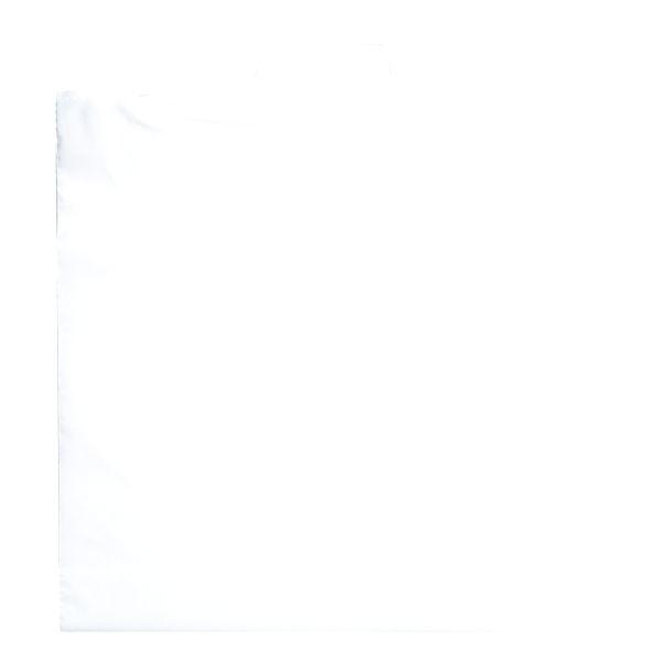 Rigid Handle Bag - 2.5 MIL WHITE RIGID HANDLE BAG