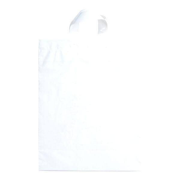 Soft Loop Handle Bag - 2.5 MIL CLEAR SOFT LOOP HANDLE