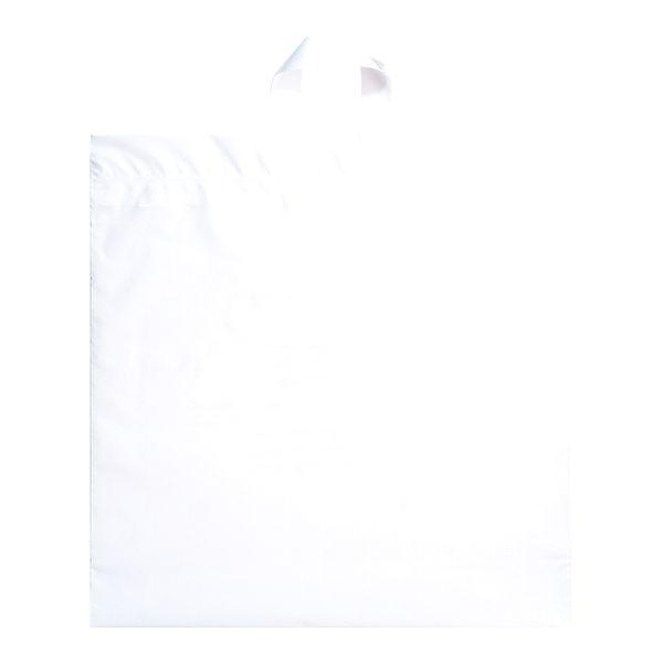Soft Loop Handle Bag - 3.0 MIL WHITE SOFT LOOP HANDLE