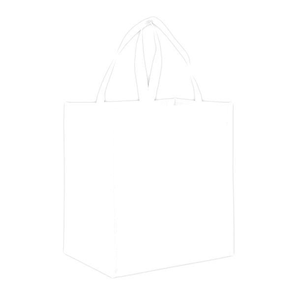 "Designer Grocery - 22"" HANDLES WHITE"
