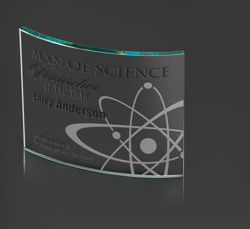 FS135 - Slumped Jade Glass