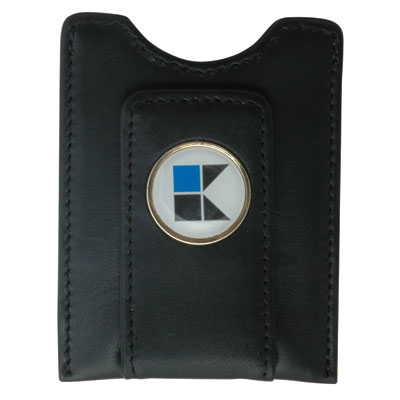 Magnetic Money Clip - The Traditional Magnetic Money Clip Wallet with one pocket is an impressive top grain leather wallet available in Brown and Black.