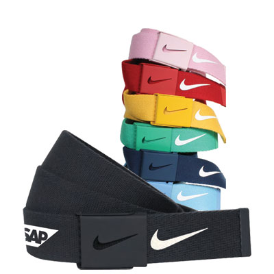 Nike Tech Essentials Web Belt - Designed for a universal fit, the Nike Men's Tech Essential Web Belt is a lightweight belt that you can cut to just the right length.
