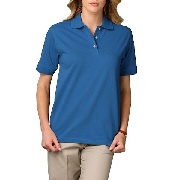 Ladies Short Sleeve Pique Polo
