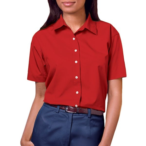 Ladies Short Sleeve Shirt