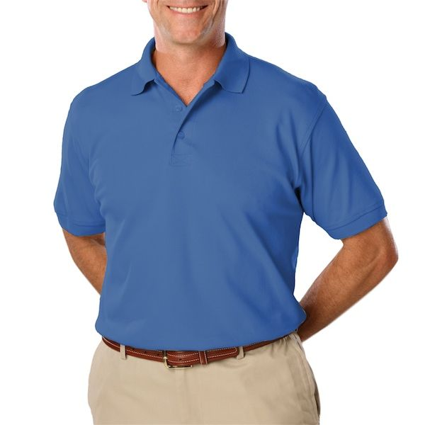 Men'S Short Sleeve Pique Polo