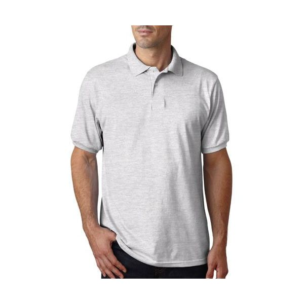 054X Hanes Adult ComfortBlend EcoSmart® Jersey Polo  - 054X-Ash (50/50)