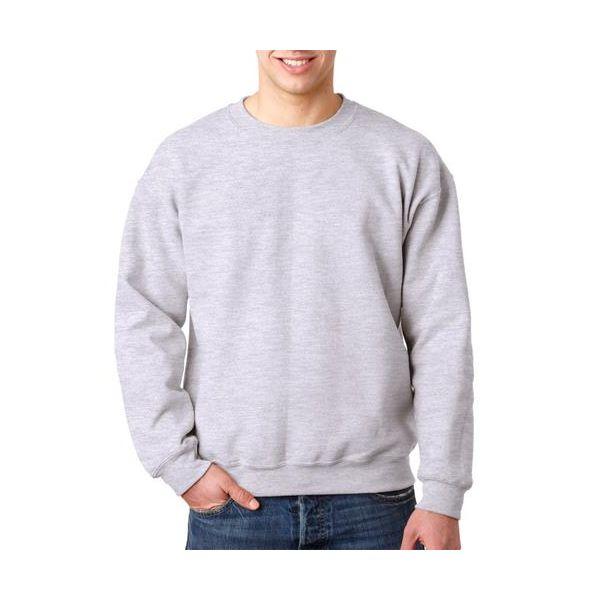 12000 Gildan Adult Gildan DryBlendTM 50/50 Crewneck Sweatshirt  - 12000-Ash (50/50)