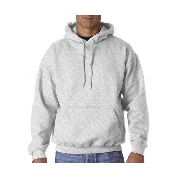 12500 Gildan Adult Gildan DryBlendTM 50/50 Hooded Sweatshirt  - 12500-Ash (50/50)