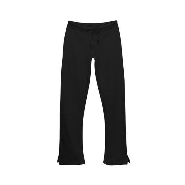 1257 Badger Ladies' Open Bottom Sweatpant  - 1257-Black